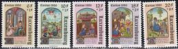L-Luxembourg 1986. Caritas. Miniaturen Aus Stundenbüchern (B.2693) - Unused Stamps