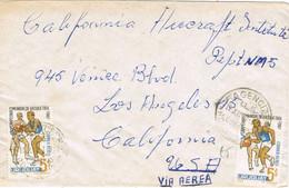 38187. Carta Aerea Urgente MONTEVIDEO (Uruguay) 1967. Fechador Agencia R.O. Uriguay - Uruguay