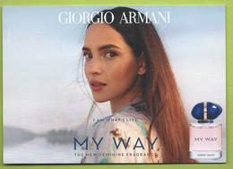 ARMANI * MY WAY *V/R * TEXT  *ALLEMAGNE - Modern (vanaf 1961)