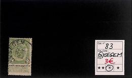 NB - [820058]TB//O/Used-Belgique 1907 - N° 83, Gysegem, Armoiries - 1893-1907 Wappen