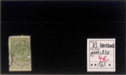 NB - [820064]TB//O/Used-Belgique 1907 - N° 83, Hautrage, Nipa+250, Armoiries - 1893-1907 Wappen