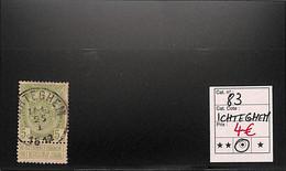 NB - [820077]TB//O/Used-Belgique 1907 - N° 83, Ichteghem, Armoiries - 1893-1907 Wappen