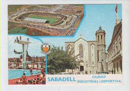 "ESTADIO - STADIUM - STADE - STADIO - STADION "" LA CREU ALTA "" .- SABADELL (  CATALUÑA ) - Stadiums"