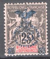 Nuova Caledonia 1903 Y.T.87 */MH VF/ F - Unused Stamps