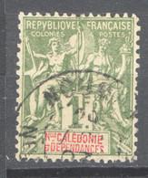 Nuova Caledonia 1892 Y.T.53 O/Used VF/ F - Unused Stamps