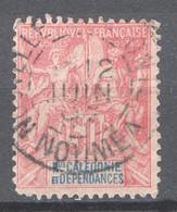 Nuova Caledonia 1892 Y.T.51 O/Used VF/ F - Unused Stamps