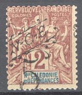 Nuova Caledonia 1900 Y.T.54 */MH VF/ F - Unused Stamps