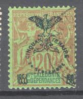 Nuova Caledonia 1903 Y.T.74 O/Used VF/ F - Unused Stamps