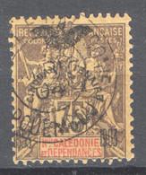Nuova Caledonia 1903 Y.T.79 O/Used VF/ F - Unused Stamps