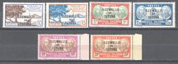 Wallis Et Futuna 1944 Y.T.125/30 **/MNH VF/ F - Ongebruikt