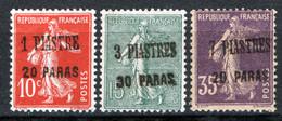 Levante 1923 Y.T.38/40 */MH VF/F - Neufs