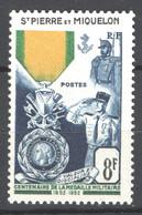 S.Pierre E Miquelon 1952 Y.T.347 **/MNH VF/F - Neufs