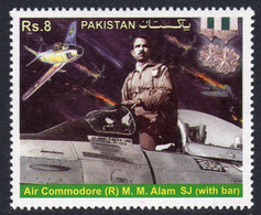 Pakistan 2014 Air Commodore MM Alam Commemoration, MNH, SG 1508 (E) - Pakistan