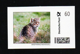 "BRD ""Marke Individuell"" - Katzen Cats - Wildkatze (Felis Silvestris Silvestris) - Felini"