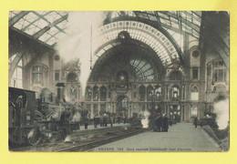 * Antwerpen - Anvers - Antwerp * (SBP, Nr 149 - KLEUR) Gare Centrale Intérieur, Bahnhof, Railway Station, Train Loco - Antwerpen