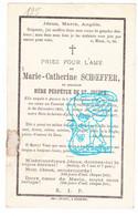 DP Marie Cath. Schoeffer - Mère Perpétue De St. Joseph ° Antwerpen 1808 † Couvent Haute-Croix Heikruis Pepingen 1877 - Devotion Images