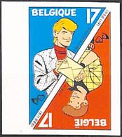 [853183]TB//ND/Imperf-c:100e-Belgique 1998 - N° 2785, ND/Imperf, Philatélie De La Jeunesse, Bandes Dessinées, Arts - Unused Stamps