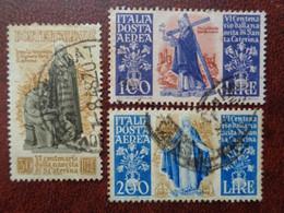 1948 UNIFICATO N° 577 ET POSTE AERIENNE N° 146 & 147 OB - 1946-60: Usados