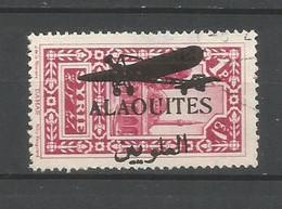 Timbre De Colonie Française Alaouite Oblitéré  P-a N 15 - Usati
