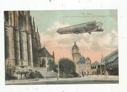 Cp, Aviation,dirigeable , Allemagne , Köln ,Koeln ,partie Am Domostcher Mit , Drügge Pitter ,  Vierge , Ed. Becker - Luchtschepen