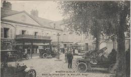 CPA  78  MANTES LA JOLIE HOTEL DU GRAND CERF  H MALLET - Mantes La Jolie
