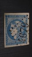 20c Bleu, Y&T N°45C, Oblitéré, Cote 70 Euro, Cachet GC4679 ................ T-3 - 1870 Emisión De Bordeaux