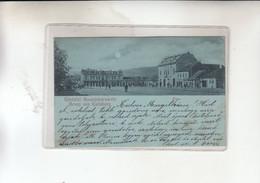 UDVOZLET GYULAFEHERVARROL -KARLSBURG  1900 - Hungría