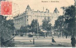 ESPAGNE  MADRID  Hotel Ritz   ..... - Madrid