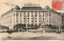 ESPAGNE  MADRID  Palace Hotel   ..... - Madrid