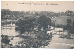 COUTRAS - Vue Panoramique - Altri Comuni