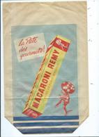 Sac En Papier Publicité Macaroni Remy La Pâte Des Gourmets ( Scané Sur Un A4 ) - Werbung