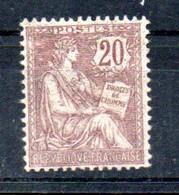 G4 France N° 126 ** à 10 % De La Côte  !!!. A Saisir !!! - 1900-02 Mouchon