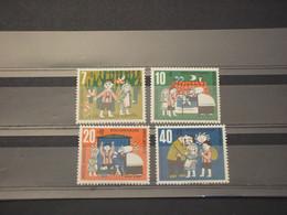 GERMANIA - 1961 FAVOLE 4 VALORI - NUOVI(++) - Neufs