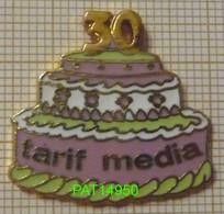 TARIF MEDIA 30 ANS GATEAU D' ANNIVERSAIRE En Version EGF DEMONS & MERVEILLES - Media