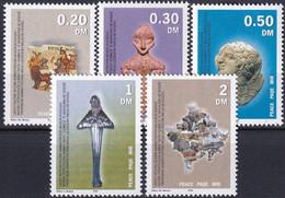 UNO KOSOVO UNMIK 2000 Mi-Nr. 1/5 ** MNH - Ungebraucht