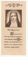 Prière Pour Demander La Canonisation Bienheureuse Beatrix De Silva Cardinal Van Roey Nivelles Monastère Conceptionistes - Andachtsbilder