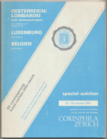 OESTERREICH/LOMBARDEI, BELGIQUE Crustin, LUXEMBOURG Seligson, Auction Catalogue 1982 - Catálogos De Casas De Ventas