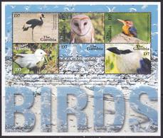 Gambia, Fauna, Birds MNH / 2001 - Otros