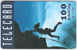 AUSTRIA D-262 Prepaid Telecard - Leisure, Mountain Climbing - Used - Oesterreich