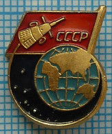 "USSR / Badge / Soviet Union / RUSSIA / Space The Third Artificial Earth Satellite ""Sputnik-3"". 1958-1960 - Espacio"