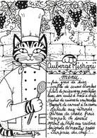 Illustration Illustrateur Bourdillon Jacqueline Chat Chats Série Professions Liberales Le Chef Cuisine Cuisinier  CPM - Andere Illustrators