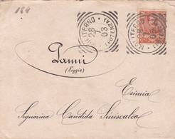 REGNO  - ITALIA - 1903 - BUSTA VIAGGIATA - MOLITERNO (POTENZA) - VIAGGIATA PER PANNI (FOGGIA) - Marcofilie