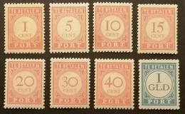 Ned.Indië - Nrs. P41 T/m 48 (postfris) - India Holandeses