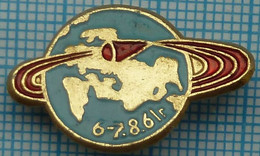 USSR / Badge / Soviet Union / RUSSIA / Space.  Spaceship Vostok-2. 6-7.8..1961 - Espacio