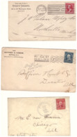 United States, Lot Of 5 Letters Sent From 1900 To 1920, Good Condition, Different Postmarks, Ref. Lot2 - Unclassified