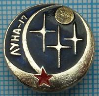 USSR / Badge / Soviet Union / RUSSIA / Space. Luna - 17. Soviet Automatic Interplanetary Station. 1970 - Espacio