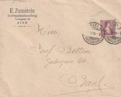 ENTIER POSTAL Privé : ZUMSTEIN LE 27/03/1909 - Interi Postali