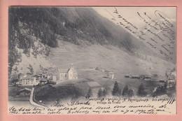 OUDE POSTKAART ZWITSERLAND - SUISSE -     VILLAGE DE TRIENT  1905 - VS Valais