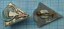 USSR / Badge / Soviet Union / RUSSIA / Space. Luna - 3. Soviet Automatic Interplanetary Station. 1959 - Espacio