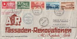LETTRE - SWISSAIR Europaflug - Zurich Le 22/05/1939 Pour Laghouat (Algérie) - Altri Documenti